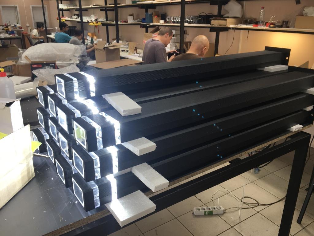 производство промышленного освещения